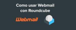 Como usar Webmail – Roundcube
