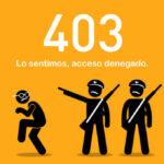 Qué es error 403 y cómo solucionarlo